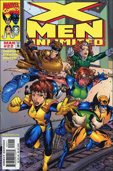 X-Men Unlimited (1993) 22-A by Marvel