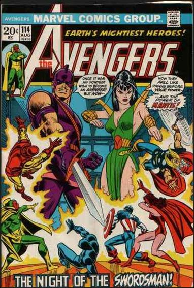 Avengers (1963) 114-A by Marvel