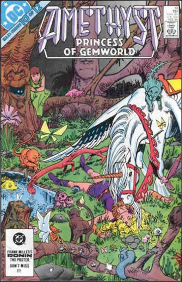 Amethyst, Princess of Gemworld (1983) 10-A by DC