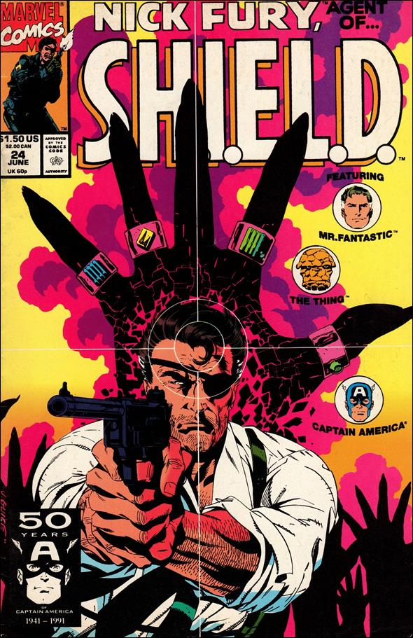 Nick Fury, Agent of S.H.I.E.L.D. (1989) 24-A by Marvel