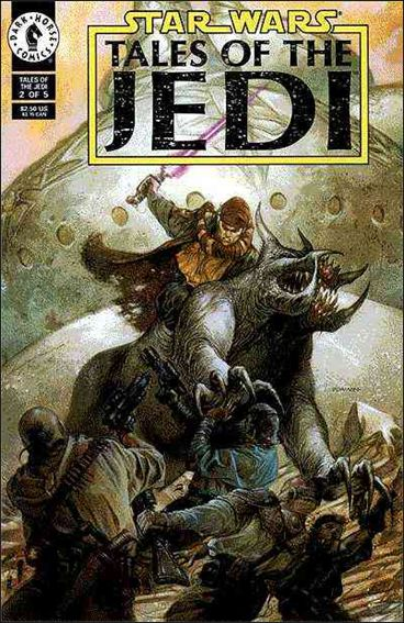 Star Wars: Tales of the Jedi 2-A by Dark Horse