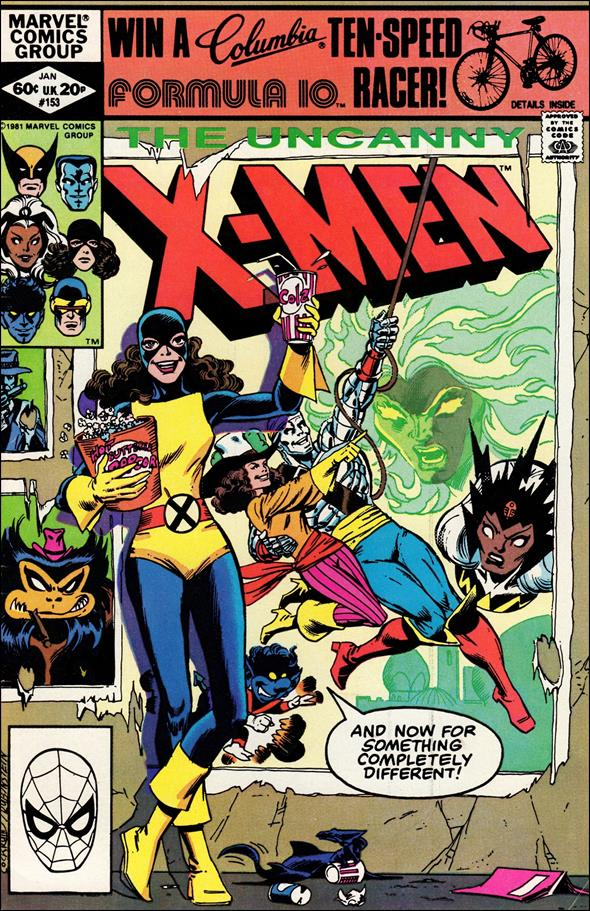 Uncanny X-Men (1981) 153-A by Marvel