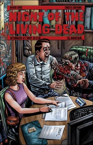 Night of the Living Dead: Aftermath (2012)  7-B by Avatar Press