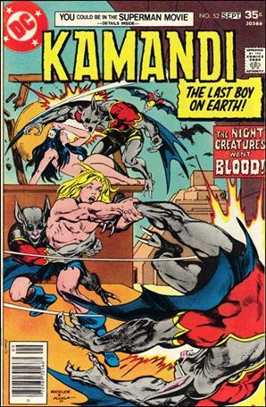 Kamandi, the Last Boy on Earth 52-A