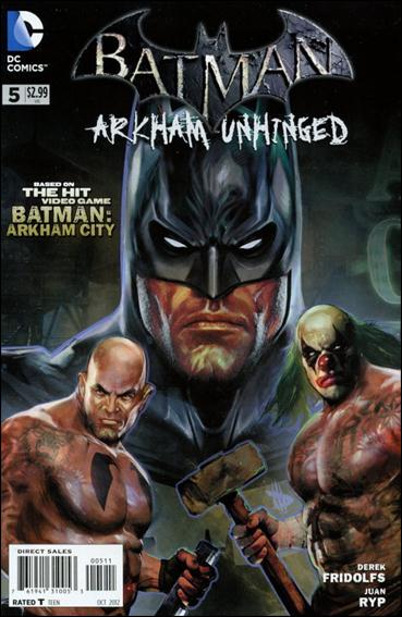 Batman: Arkham Unhinged 5-A by DC