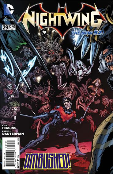 Nightwing (2011) 29-A by DC