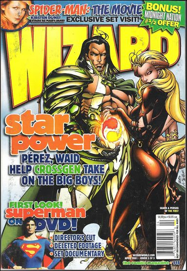 Wizard: The Comics Magazine 115-C by Wizard Press