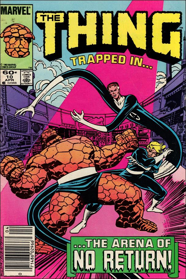 Thing (1983) 10-A by Marvel