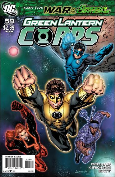 Green Lantern Corps (2006) 59-A by DC