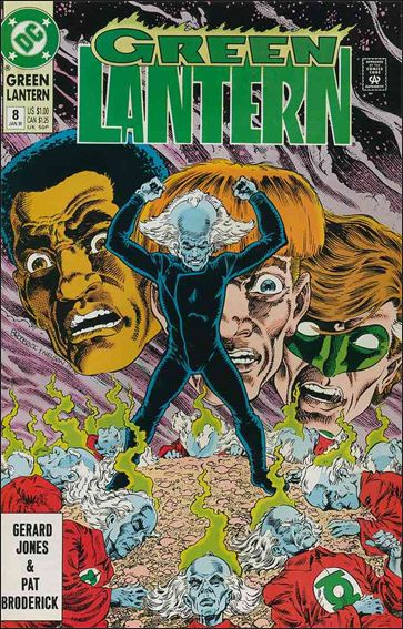 Green Lantern (1990) 8-A by DC