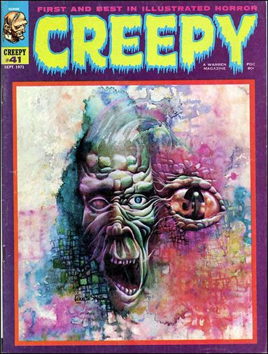 Creepy 41-A by Warren