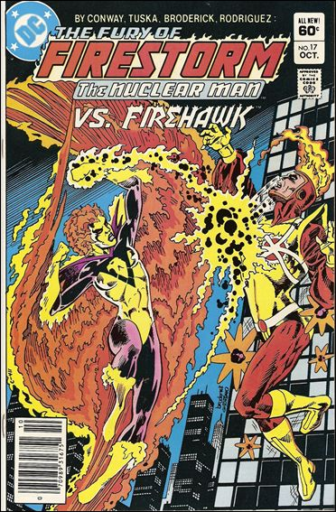 Fury of Firestorm 17-A by DC