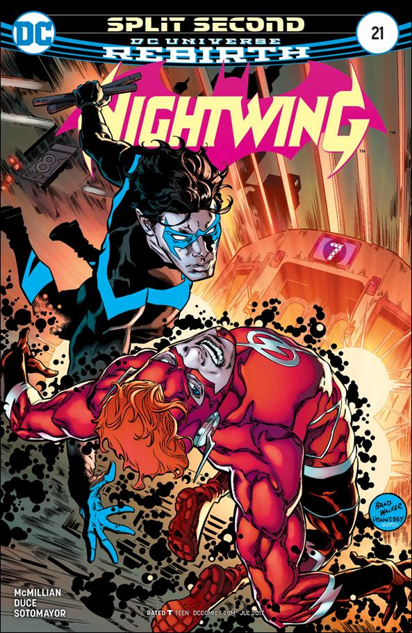 Nightwing (2016) 21-A by DC