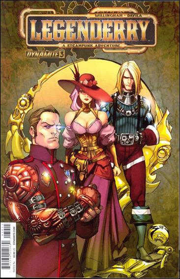 Legenderry: A Steampunk Adventure 3-A by Dynamite Entertainment