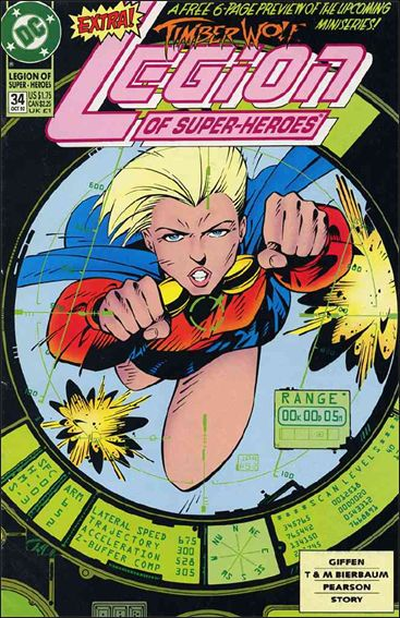 Legion of Super-Heroes (1989) 34-A by DC