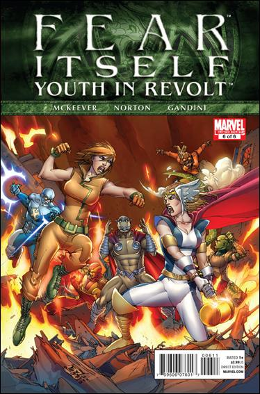 Fear Itself: Youth In Revolt 6-A by Marvel