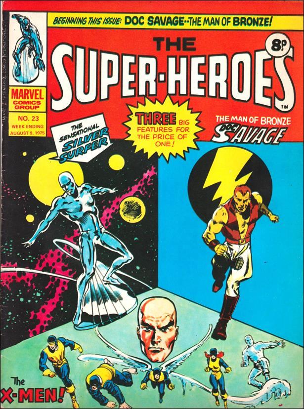 Super-Heroes (UK) 23-A by Marvel UK
