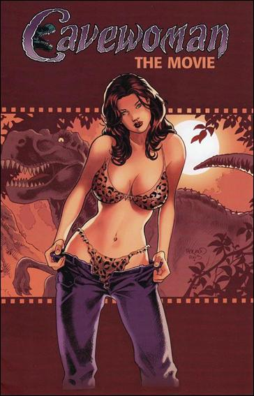 Cavewoman: The Movie 1-B by Basement Studios