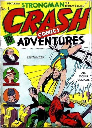Crash Comics 4-A by Tem Publishing