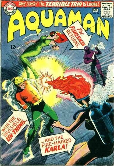 Aquaman (1962) 24-A by DC