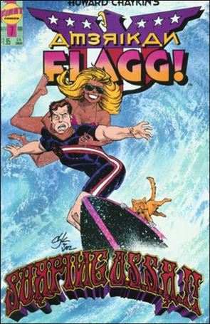Howard Chaykin's American Flagg!  7-A