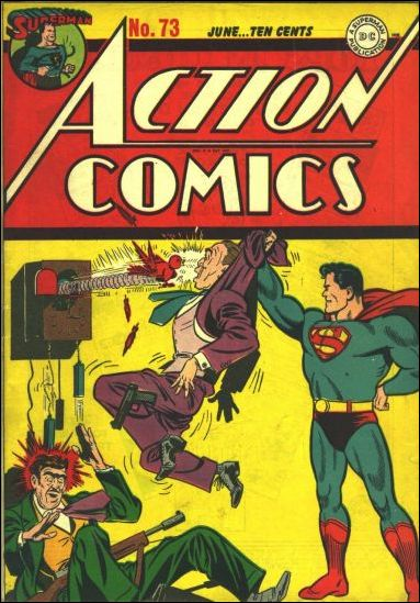 Action Comics (1938) 73-A by DC