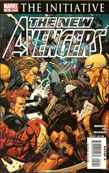 New Avengers (2005) 29-A by Marvel