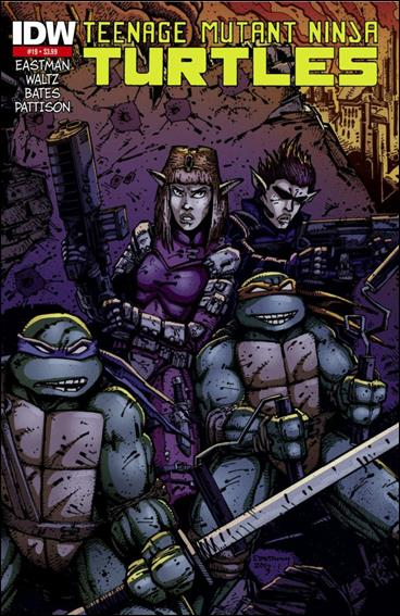 Teenage Mutant Ninja Turtles (2011) 19-D by IDW