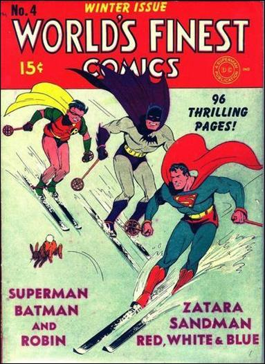 World's Finest Comics 4-A by DC