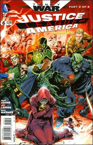 Justice League of America (2013)  6-F by DC