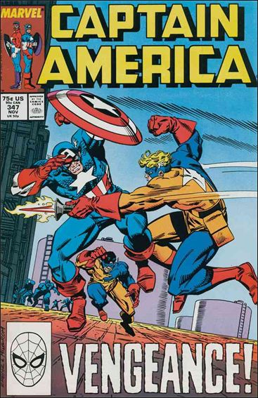 Captain America (1968) 347-A by Marvel