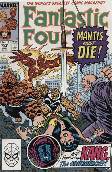 Fantastic Four (1961) 324-A by Marvel