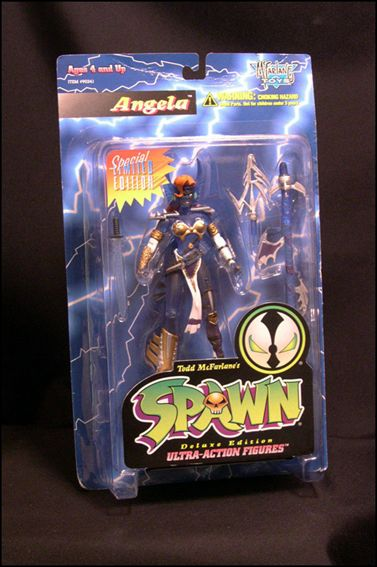 Spawn (Series  2) Angela Blue by Todd Toys