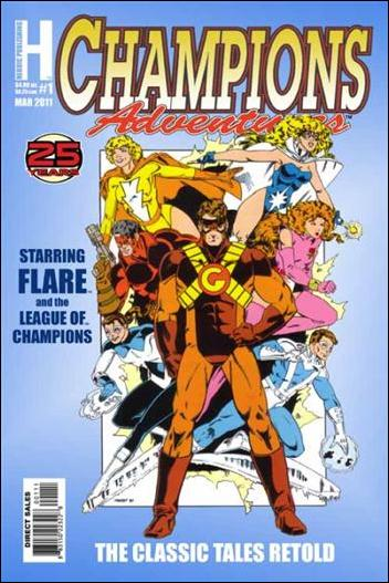 Champions Adventures 1-A by Heroic Publishing