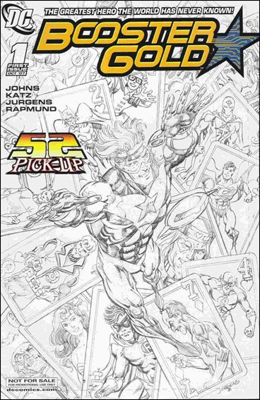 Booster Gold (2007) 1-C by DC