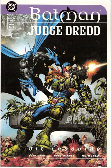 "Batman/Judge Dredd: ""Die Laughing"" 2-A by DC"