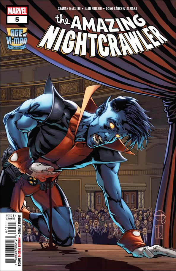 Age of X-Man: The Amazing Nightcrawler 5-A by Marvel