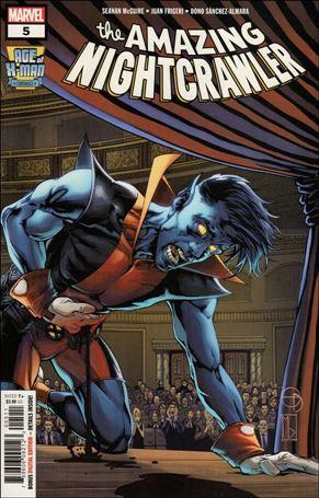 Age of X-Man: The Amazing Nightcrawler 5-A