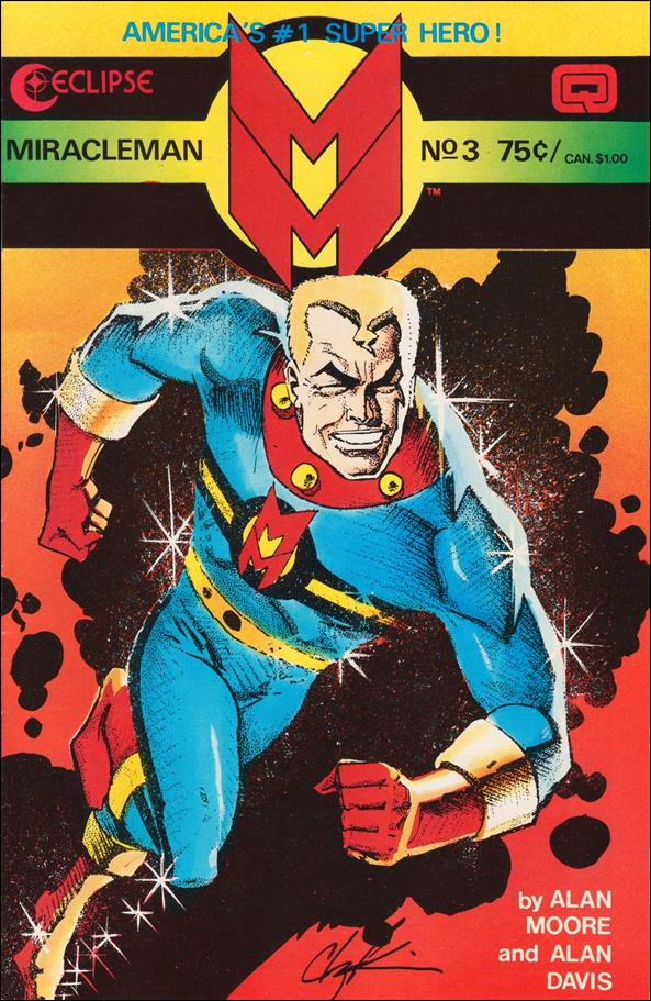 Miracleman 3-A by Eclipse