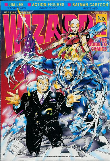 Wizard: The Guide to Comics 12-B by Wizard Press