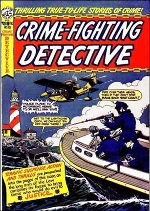 Crime-Fighting Detective 13-A