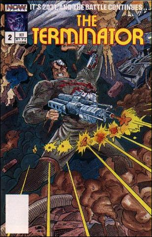 Terminator (1988) 2-A by Now Comics