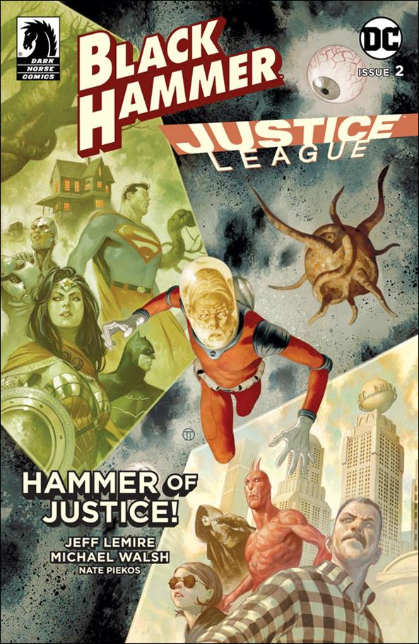 Black Hammer/Justice League: Hammer of Justice! 2-E by Dark Horse