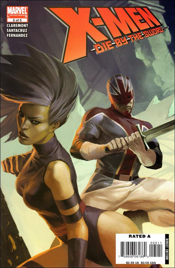 X-Men: Die by the Sword 5-A by Marvel