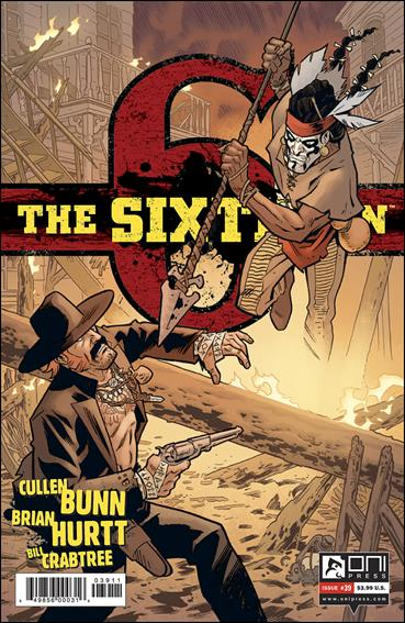 Sixth Gun 39-A by Oni Press