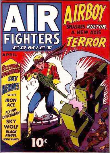 Air Fighters Comics (1941) 7-A by Hillman