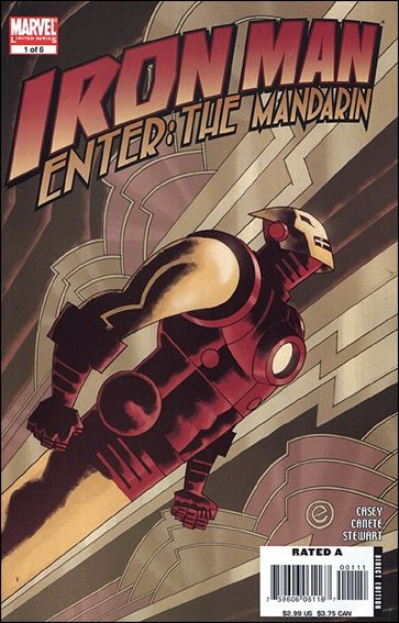 Iron Man: Enter the Mandarin 1-A by Marvel