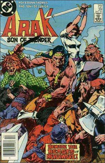 Arak Son of Thunder 39-A by DC