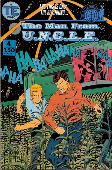 Man from U.N.C.L.E.(1987) 4-A by Entertainment Publishing