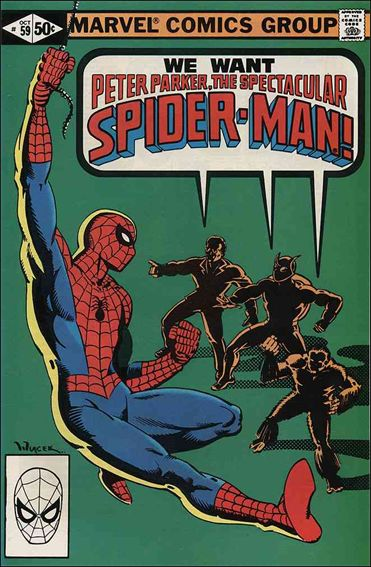 Spectacular Spider-Man (1976) 59-A by Marvel